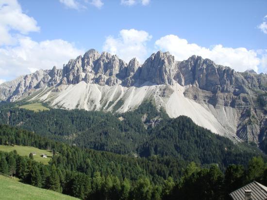 Berghotel Schlemmer: Blick in die Dolomiten