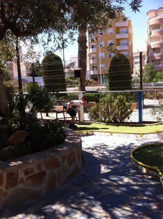 Minigolf Las Salinas