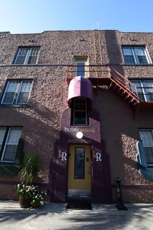 Hotel Ranola main entrance