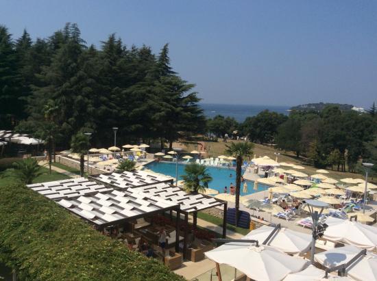 Hotel Laguna Mediteran: Dalla camera