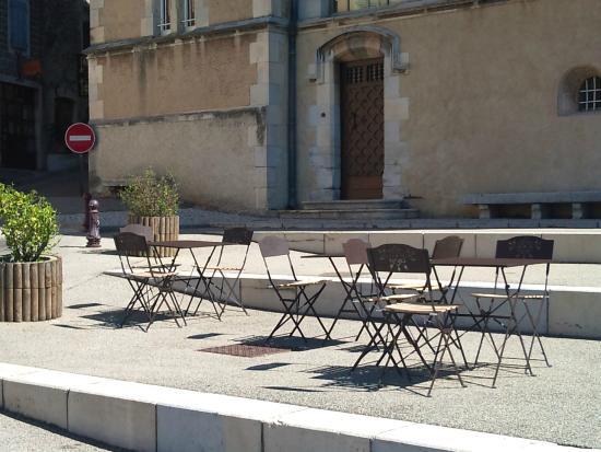 Chez Steph's Pizza : la terrasse
