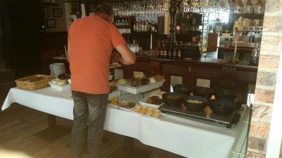 Lækker buffet - Billede af Spisestuen, Esbjerg - TripAdvisor