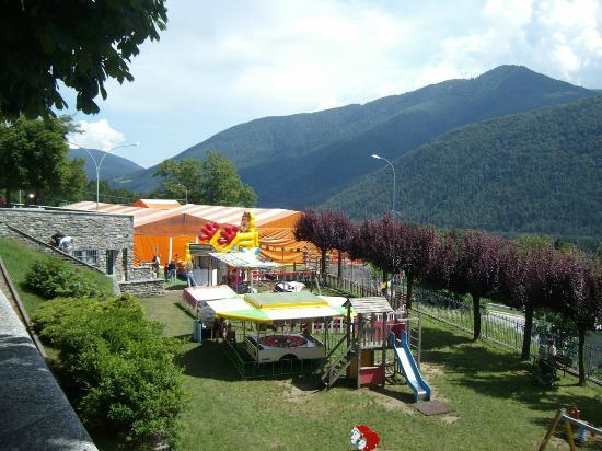 Santa Maria Maggiore, Italie : Toceno: parco giochi