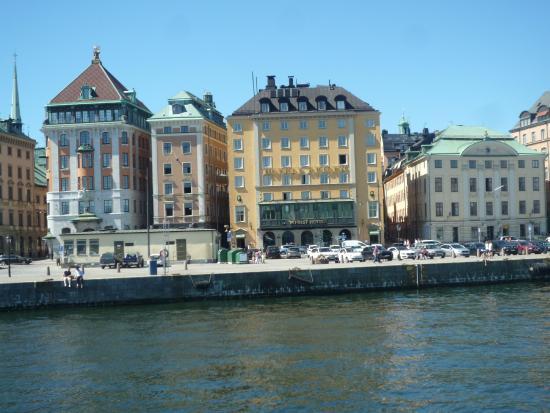 terrassen fra vores v relse photo de first hotel reisen stockholm tripadvisor. Black Bedroom Furniture Sets. Home Design Ideas