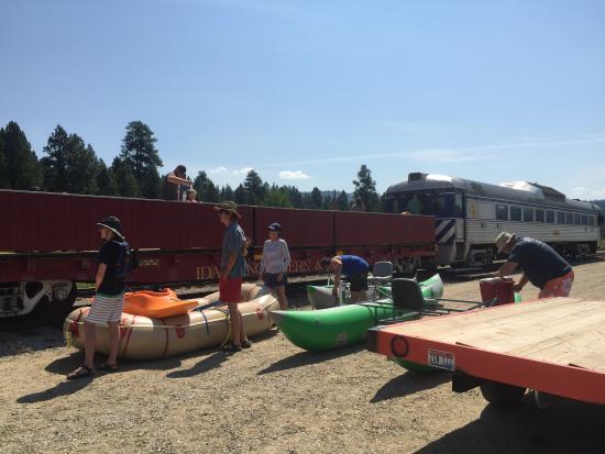 Cascade, Αϊντάχο: Rafters at Smiths Ferry