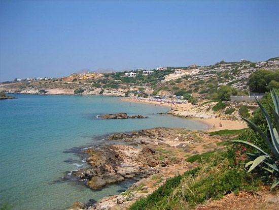 Skalakia: Kalathas beach