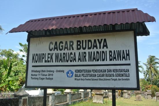 Waruga Burial Complexes : Waruga AirMadidi Bawah Complex