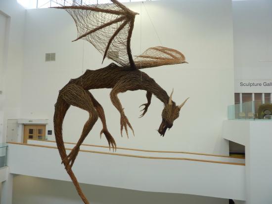 Ulster Museum: amazing dragon