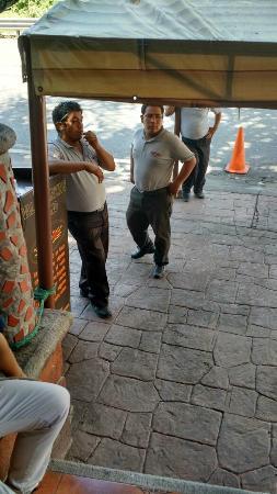 Alpuyeca, Mexico: Los valets