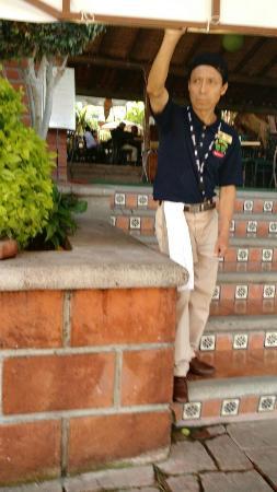 Alpuyeca, Mexico: El disque gerente
