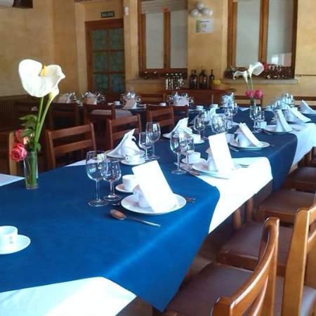 Burgohondo, España: Nuestro comedor en ocasiones especiales