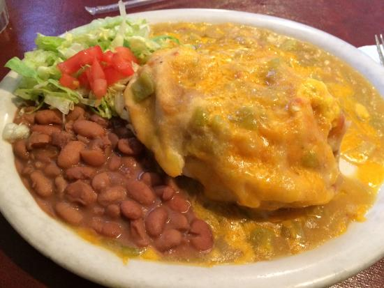 Awesome El Patio De Albuquerque: Sopaipilla With Spicy Pork, Eggs, U0026 Potatoes
