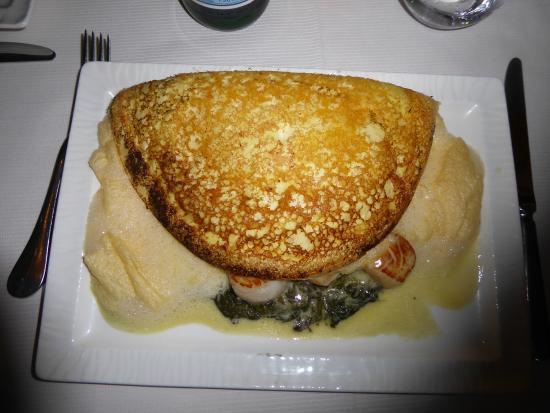 Omelette aux saint jacques photo de la m re poulard mont saint michel tripadvisor - Omelette de la mere poulard ...
