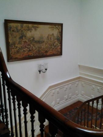 Residencial Rex: Лестница на второй этаж