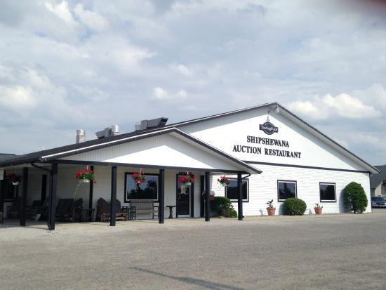 Shipshewana Auction Restaurant Building Front Picture Of