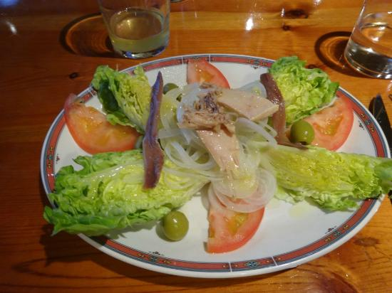 sidreria restaurante pil pil: 前菜