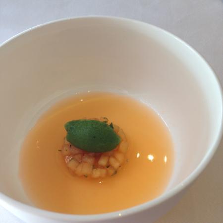 Sorbet melon avec glace basilic un d lice picture of le relais des moines les arcs sur - Glace au melon avec sorbetiere ...