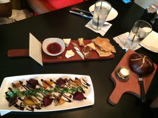 Cooperu0027s Hawk Winery u0026 Restaurants Beets and Goat Cheese Cheese Plate & Beets and Goat Cheese Cheese Plate - Picture of Cooperu0027s Hawk ...