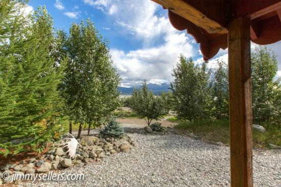 Ultima Thule Lodge : view from our cabin