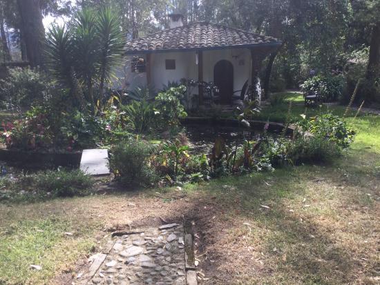 Hacienda Cusin: Garden Cottage on Hacienda Grounds