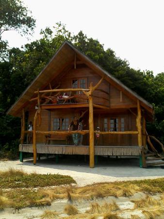 Le bungalow familial du pongara lodge s jour chambre et for Chambre d agriculture du bas rhin
