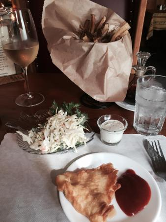 Nanci and Jimella's : Halibut Fish & Chips