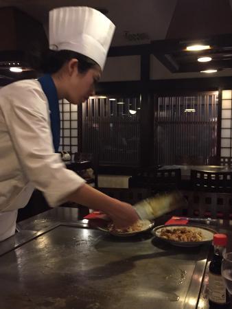 Daitokai Restaurant: Mit viel Liebe am Platz zubereitet. Teppan Yaki - die meisterhafte japanische Kochkunst
