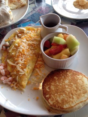 Depoe Bay, OR: Fabulous home made breakfasts!!