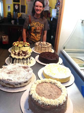 European Desserts and More : They were all great