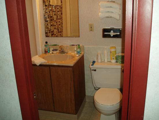 Town 'n Country Motor Lodge: Bathroom
