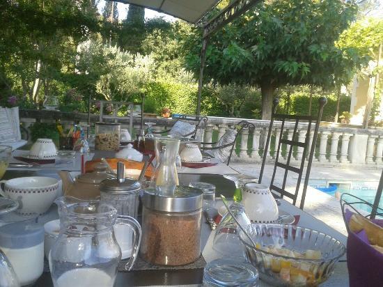 Le Jas des Alpilles : colazione