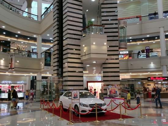 Abu Dhabi Mall is a shopping mall in central Abu Dhabi United Arab Emirates It opened on 15 May 2001 and has over 200 shops The Mall is located next to the Beach
