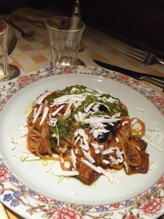 Il Tavolino: Spaghetti alla Gastone