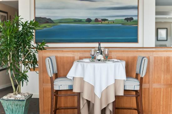 Savor a memorable meal indoors in The Dunes dining room or outdoors on our deck.
