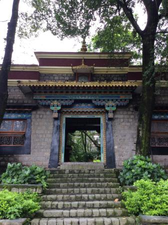 Norbulingka Institute: The entrance