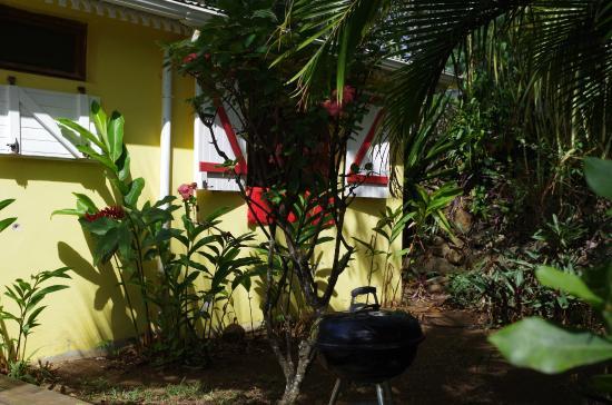 Vue sur g te corail photo de au jardin des colibris for Au jardin des colibris