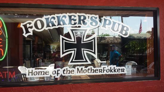 Fokker's Pub: Home of the MotherFokker