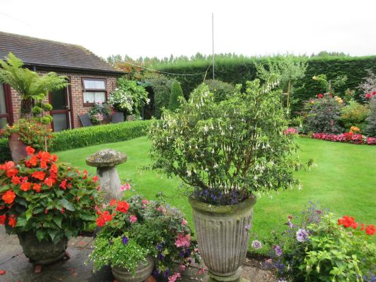 Fishbourne, UK: The perfect garden for guests to relax in ...