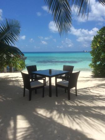 Kuramathi: Just one of the many spots to have a drink