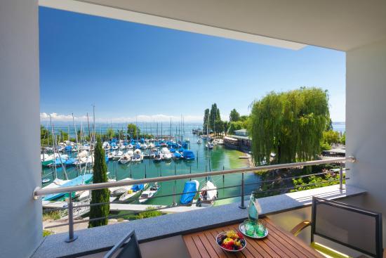 Hotel Seehof: Blick vom Balkon