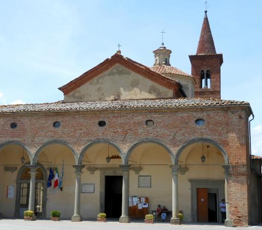 Foiano Della Chiana, Italy: facciata