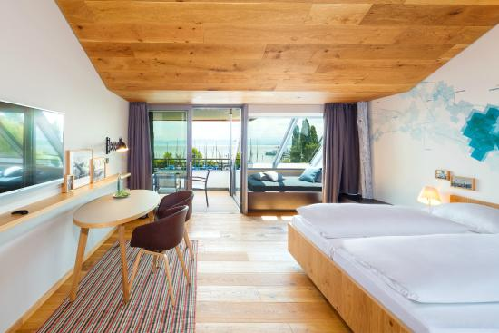 Hotel Seehof: Panoramazimmer 3. Etage