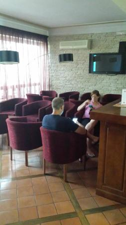 Montemar: This is the TV lounge area