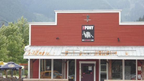 The Pony Restaurant, Pemberton, BC