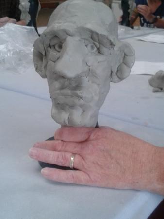 The Sculpture Workshop : Face 1!