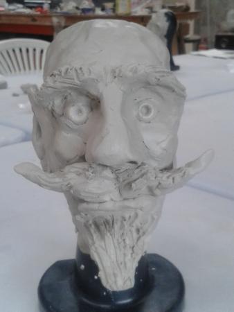The Sculpture Workshop : Face 2!