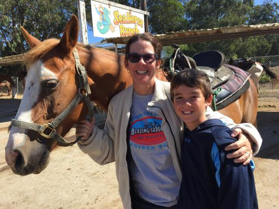 Sea Horse Ranch: Had a great time. The stables may be a little run down, but the horses are in great condition. G