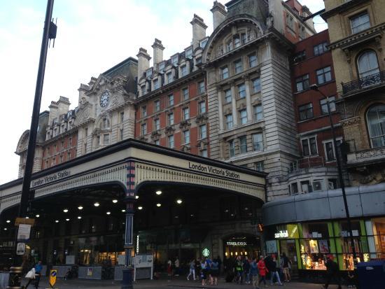 The Shakespeare Victoria Station Across Street