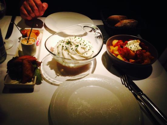 ... rusa y fish and xips' - Picture of Balthazar, Barcelona - TripAdvisor