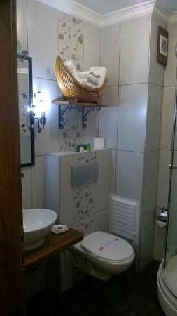 Hotel Sphendon: Bathroom
